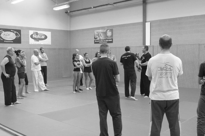 Premier cours de Krav Maga à Roncq