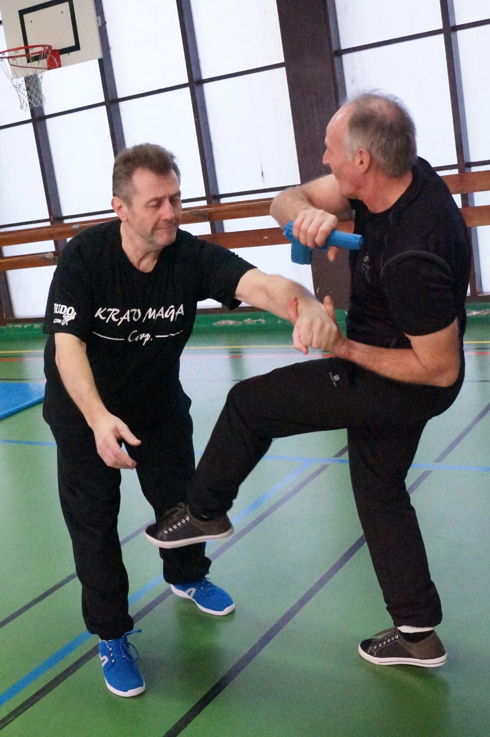 Photo du stage défense arme à feu Krav Maga Roncq